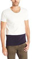 Scotch & Soda Men's Home Alone Color Block T-Shirt