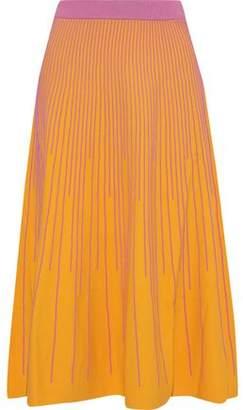 Derek Lam 10 Crosby Ribbed-knit Midi Skirt