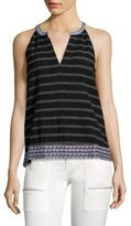 Soft Joie Joie Heather Striped Tank Top