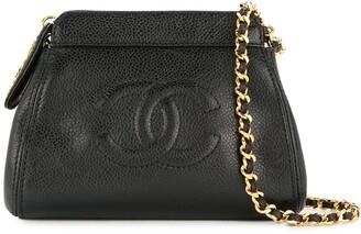 Chanel Pre-Owned 1997-1999 CC cain shoulder bag