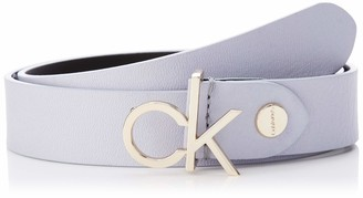 Calvin Klein Women's 3cm Low Adj.buckle Belt