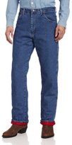 Wrangler Men's Big And Tall Rugged Wear Woodland Thermal Jean