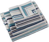Christy Kalifi Stripe Towel - Harbour - Hand Towel