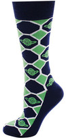 Cufflinks Inc. Yoda Checker Socks