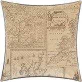 Bohemian Travels Velvet Cushion