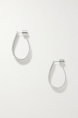 Jennifer Fisher Petite Bolden Silver-plated Hoop Earrings