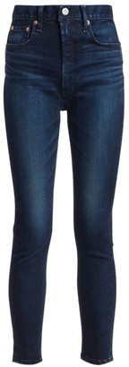 Moussy Super High-Rise Crawford Skinny Jeans