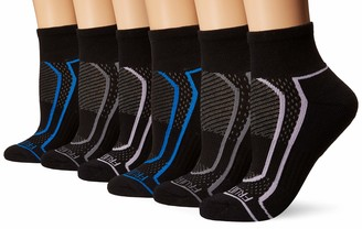 Fruit of the Loom Women's 6-Pair Ankle Socks