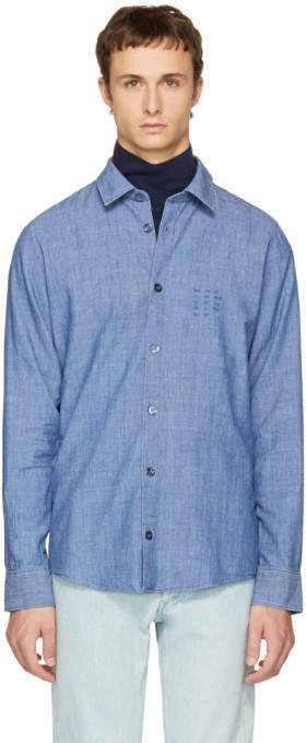 A.P.C. Indigo Winter 87 Shirt