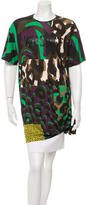 Versace Printed Short Sleeve Tunic