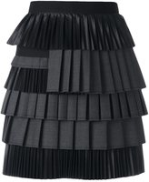 DSQUARED2 draped ruched detail skirt