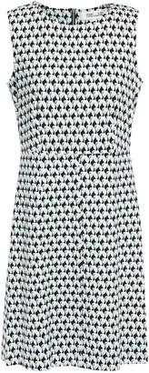 Diane von Furstenberg Carrie Printed Stretch-jersey Mini Dress