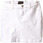 Dolce & Gabbana Denim Skirt (Toddler/Little Kids)