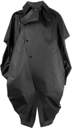 Bottega Veneta Detachable-Cape Cocoon Coat