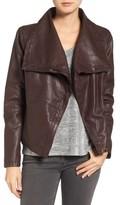 Women's Levi's Cowl Neck Faux Leather Jacket