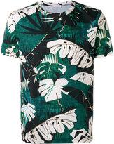 Moncler leaf print T-shirt