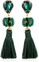Suzanna Dai Lisboa Small Tassel Gumball Drop Earrings