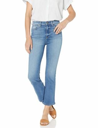 Hudson Women's Holly HIGH Rise Crop Flare 5 Pocket Jean