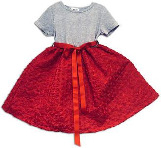 Joe Ella Satin Roses Dress