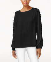 Joseph A Ruffled Top