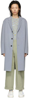Acne Studios Blue Chad Coat