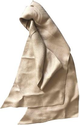 Gucci Beige Silk Scarves