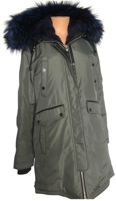 Nicole Benisti Khaki Coat for Women