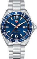Tag Heuer WAZ1010BA0842 formula 1 stainless steel blue mens