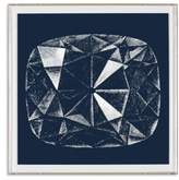 Natural Curiosities Framed Cushion Cut Diamond Print