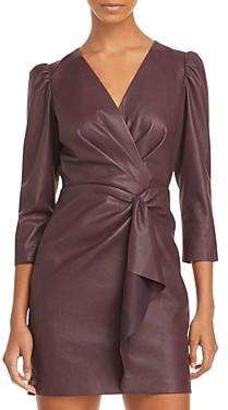 Rebecca Taylor Vegan Leather Dress