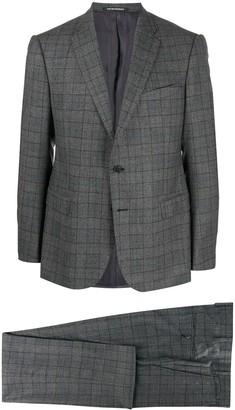 Emporio Armani Two-Piece Checked Suit