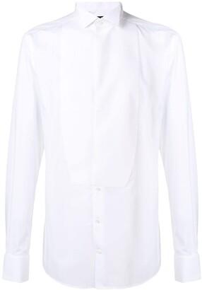 Dolce & Gabbana Bib Detail Formal Shirt