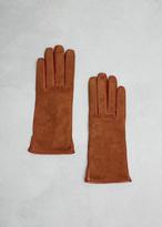 Lanvin Cognac Leather Glove