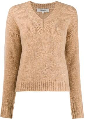 Dvf Diane Von Furstenberg knitted V-neck jumper