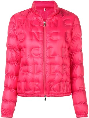 Moncler Logo Quilted Padded Jacket