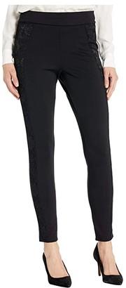 Hue Lace Tux Ponte High-Waist Leggings