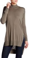 Splendid Turtleneck Hi-Lo Sweater