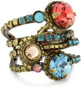 "Sorrelli Tropical"" Stacked Crystal Ring"