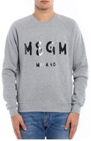 MSGM Crew Neck Sweatshirt With Logo
