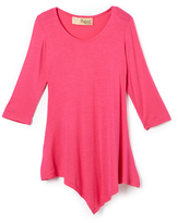 Hybrid Fuchsia Handkerchief Tunic - Toddler & Girls