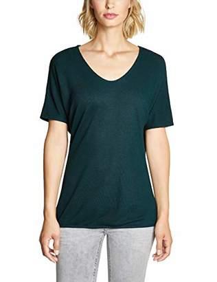 Street One Women's 313780 Insine T-Shirt, (Highland Green 11891), 18 (Size: )
