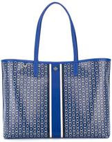 Tory Burch large chain print tote bag - women - Leather - One Size