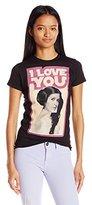 Star Wars Women's Leia Love Graphic Tee