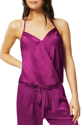 Ramy Brook Jean Satin Halter Neck Camisole