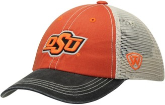 Top of the World Unbranded Youth Orange Oklahoma State Cowboys Offroad Trucker Snapback Hat