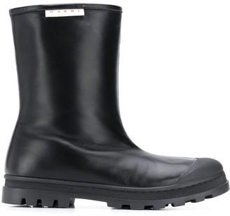 Marni Round Toe Boots