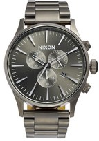 Nixon 'The Sentry' Chronograph Bracelet Watch, 42Mm