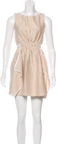 Fendi Stripe Mini Dress