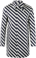 MACKINTOSH striped coat - men - Cotton - 40