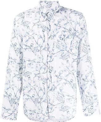 120% Lino Floral Print Shirt